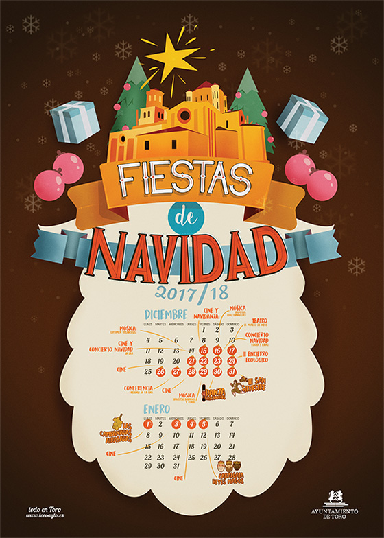 Fiestas de Navidad 2017/18 en Toro